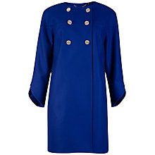 Buy Ted Baker Colete Double-Breasted Coat, Bright Blue Online at johnlewis.com