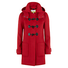 Buy NW3 by Hobbs Amie Duffle Coat, Sienna Red Online at johnlewis.com