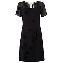 Buy White Stuff Santoro Spot Dress, Gora Grey Online at johnlewis.com