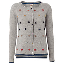 Buy White Stuff Wilderness Spot Cardigan, Grey Online at johnlewis.com