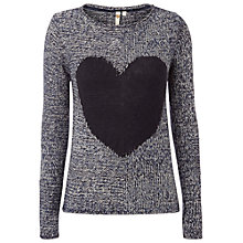 Buy White Stuff One Heart Jumper, Nightshade Online at johnlewis.com