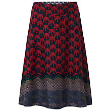 Buy White Stuff Birdie Reversable Skirt, Graphite Online at johnlewis.com