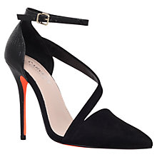 Buy Carvela Autumn High Heel Court Shoes, Black Online at johnlewis.com
