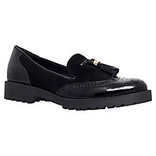 Buy Carvela Laundry Leather Brogues, Black Online at johnlewis.com