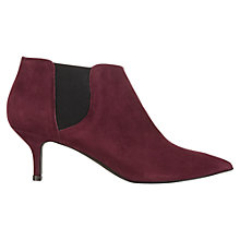 Buy Jigsaw Anaise Suede Ankle Boots Online at johnlewis.com