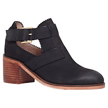 Buy Carvela Serena Leather Cut Out Ankle Boots Online at johnlewis.com