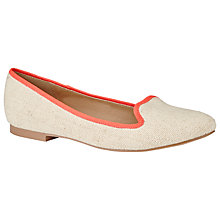 Buy John Lewis Guava Flat Heeled Slip On Loafers Online at johnlewis.com