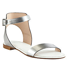 Buy Kin by John Lewis Fifty Four Leather Single Strap Sandals Online at johnlewis.com
