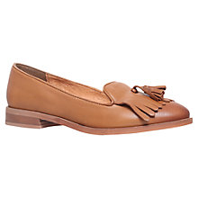 Buy KG by Kurt Geiger Leyton Leather Tassel Loafers Online at johnlewis.com