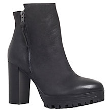 Buy Carvela Supreme High Heel Ankle Boots, Black Leather Online at johnlewis.com