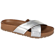 Buy Kin by John Lewis Fifty Seven Leather Wrap Sandals Online at johnlewis.com