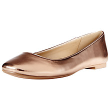 Buy John Lewis Pineapple Flat Round Toe Pumps Online at johnlewis.com