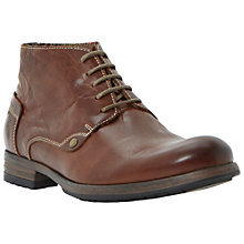 Buy Dune Chauffeur Round Toe Chukka Boots, Tan Online at johnlewis.com