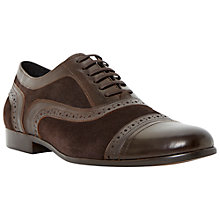 Buy Dune Ridgeway Lace-Up Leather Shoes Online at johnlewis.com