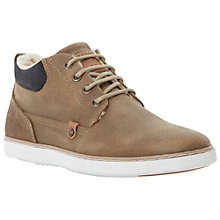 Buy Dune Sycamore Lined Trainers, Tan Online at johnlewis.com