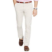 Buy Polo Ralph Lauren Cotton Chinos, Sand Online at johnlewis.com