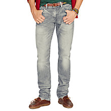 Buy Polo Ralph Lauren Varick Slim Jeans, Rinse Online at johnlewis.com