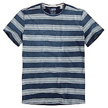 Buy Pepe Jeans Lowell Striped T-Shirt, Indigo Online at johnlewis.com