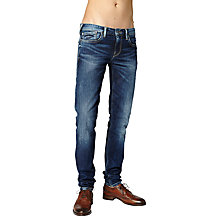 Buy Pepe Jeans Hatch Slim Jeans, Rope Dye Online at johnlewis.com