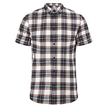 Buy Eleven Paris Ghena Short Sleeve Shirt, Navy/White Online at johnlewis.com