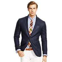 Buy Polo Ralph Lauren Morgan Herringbone Blazer, Navy Online at johnlewis.com