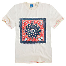 Buy Pepe Jeans Karmairi Print T-Shirt, Stucco Online at johnlewis.com