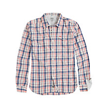 Buy Pepe Jeans Long Sleeve Aiaku Check Shirt, Multi Online at johnlewis.com