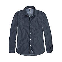 Buy Pepe Jeans Baudelaire Dot Print Shirt, Indigo Online at johnlewis.com