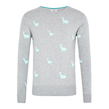 Buy HYMN Willy 100 Whale Jumper, Grey Online at johnlewis.com
