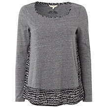 Buy White Stuff Canada Printed Top, Blue Grey Online at johnlewis.com