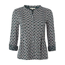 Buy White Stuff Conifer Holly Cotton Jersey Shirt, Conifer Online at johnlewis.com