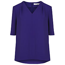 Buy L.K. Bennett Arlo Loose Fitted Top, Regal Online at johnlewis.com