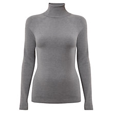Buy East Roll Neck Jumper, Smoke Online at johnlewis.com