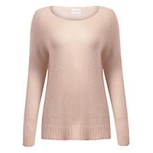 Buy East Mohair Blend Jumper, Pale Pink Online at johnlewis.com