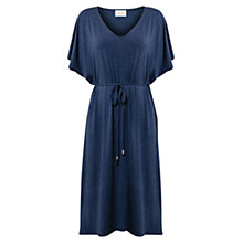Buy East Melange Kimono Dress, Navy Online at johnlewis.com