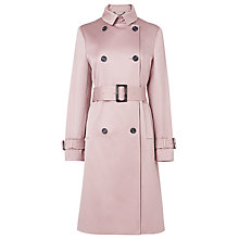 Buy L.K. Bennett Evelina Trench Coat, Marshmallow Online at johnlewis.com