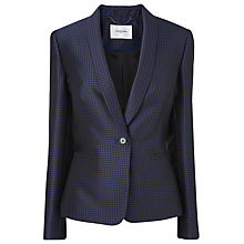 Buy L.K. Bennett Minerva Jacquard Blazer, Regal Online at johnlewis.com