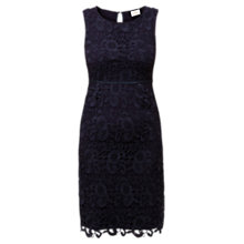 Buy East Lace Dress, Violet Online at johnlewis.com