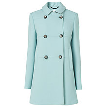 Buy L.K. Bennett Delia Seam Detail Coat, Mint Online at johnlewis.com