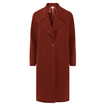 Buy Hobbs Daisey Coat, Deep Rust Online at johnlewis.com
