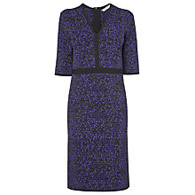 Buy L.K. Bennett Tipa Jacquard Knit Dress, Regal Online at johnlewis.com