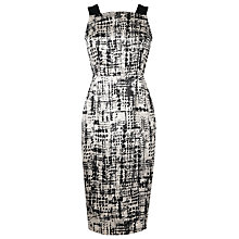 Buy L.K. Bennett Safari Panel Dress, Black Online at johnlewis.com