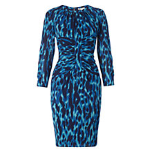 Buy Whistles Bella Tyler Animal Dress, Blue Online at johnlewis.com