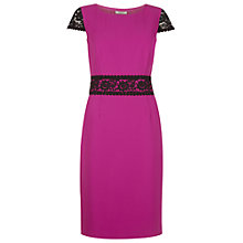 Buy Precis Petite Lace Trim Dress Online at johnlewis.com