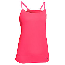 Buy Under Armour Essential Banded Tank Top, Pink Online at johnlewis.com