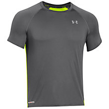 Buy Under Armour Heatgear Flyweight Running T-Shirt Online at johnlewis.com