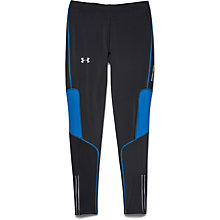 Buy Under Armour Compression Running Leggings, Black Online at johnlewis.com