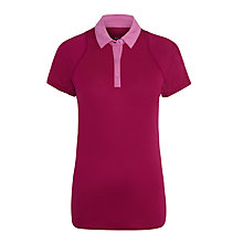 Buy Nike Sphere Short Sleeve Polo Shirt, Pink Online at johnlewis.com