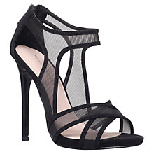Buy KG by Kurt Geiger Haze High Heel Sandals, Black Online at johnlewis.com
