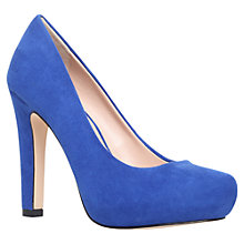 Buy Miss KG Annie High Heel Court Shoes, Blue Online at johnlewis.com